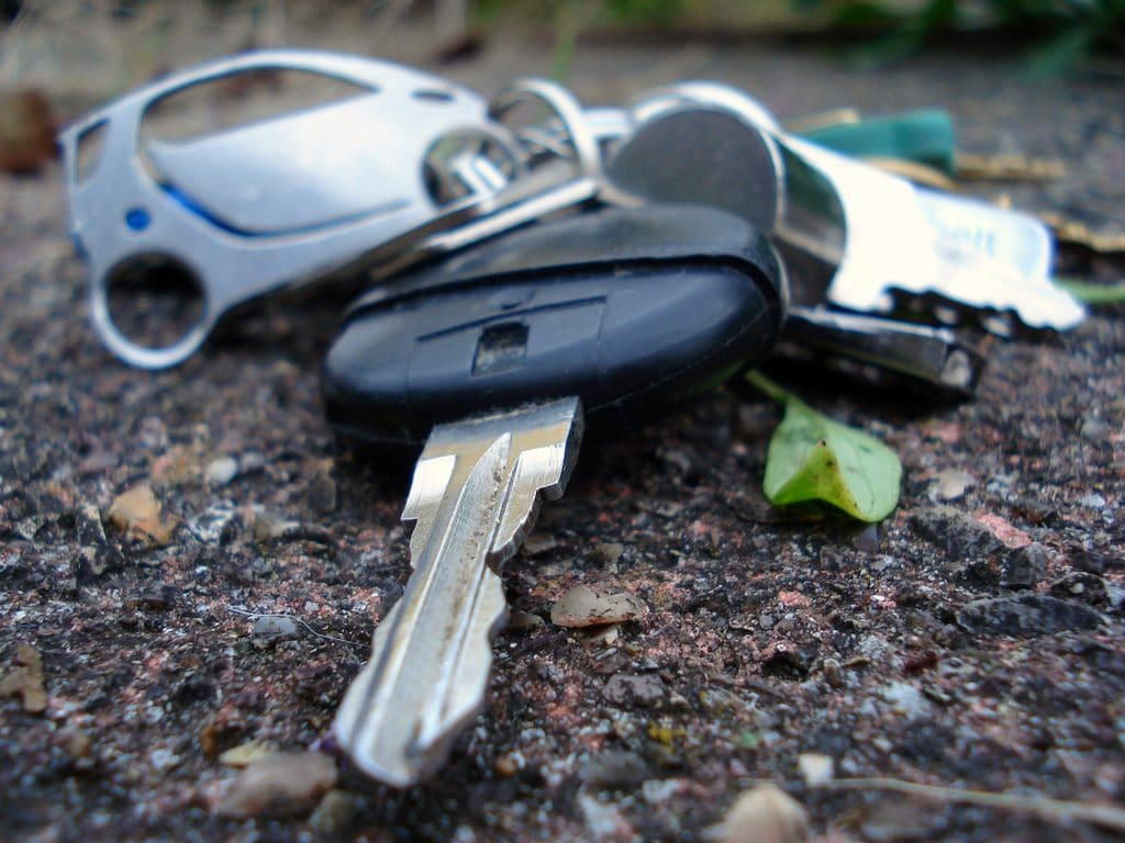 Car Keys Lost NYC